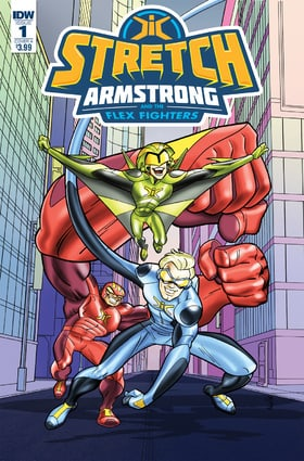 Stretch Armstrong  the Flex Fighters
