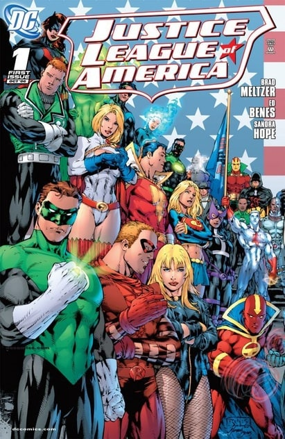 Justice League of America (2006 2nd Series) 	#0-60 	DC 	2006 - 2011