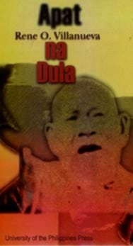 Apat na dula (Philippine writers series)