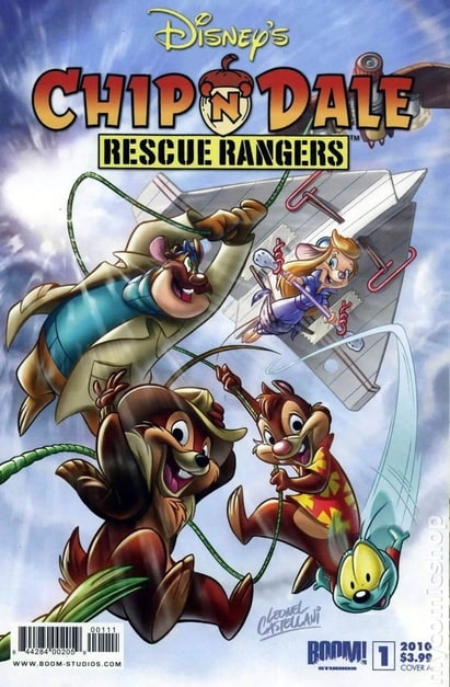 Chip n Dale Rescue Rangers (2010)