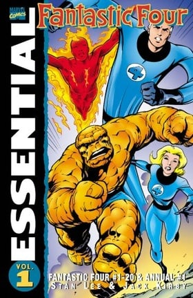 Essential Fantastic Four Volume 1 TPB: v. 1