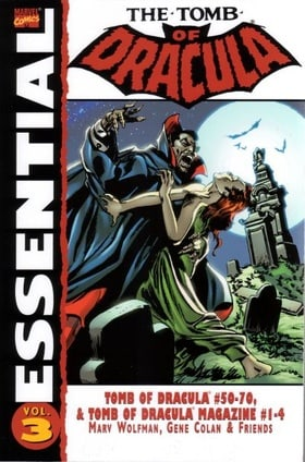 Essential Tomb Of Dracula Volume 3 TPB