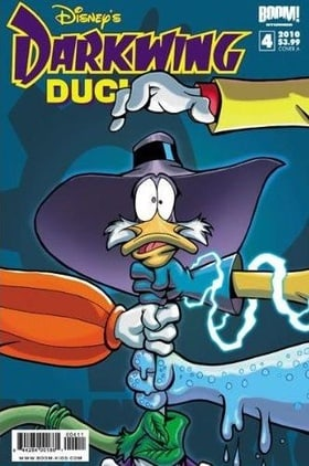 Darkwing Duck #4 Cover A