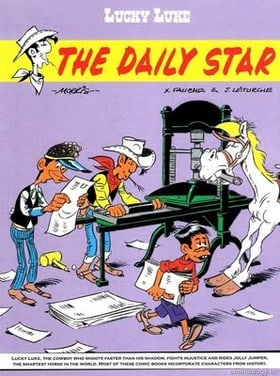 Lucky Luke Tome 23 : Le Daily Star