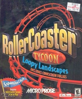RollerCoaster Tycoon: Loopy Landscapes & Corkscrew Follies (Expansions)