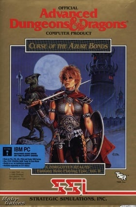 Curse of the Azure Bonds: Forgotten Realms Vol II