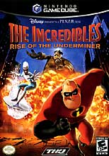 The Incredibles : Rise Of The Underminer (GameCube)