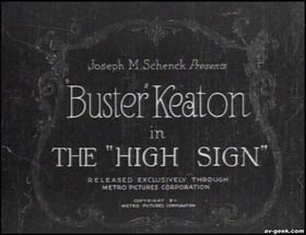 The 'High Sign'