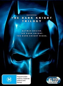 The Dark Knight Trilogy (Batman Begins, The Dark Knight, The Dark Knight Rises)