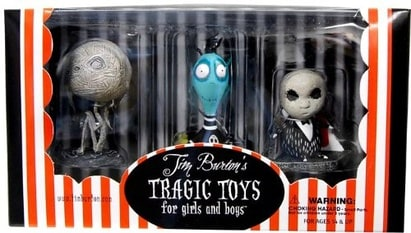Tim Burton's Tragic Toys PVC Set #2