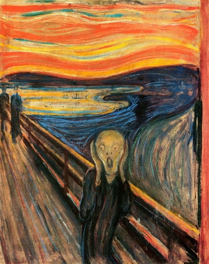 Edvard Munch : The Scream