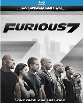 Furious 7 (Blu-ray + DVD + Digital HD) (Extended Edition)