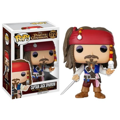 Pirates of the Caribbean Pop! Vinyl: Captain Jack Sparrow Version 2