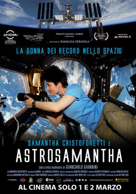 Astrosamantha, the Space Record Woman