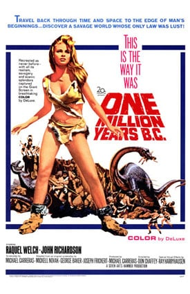 One Million Years B.C.                                  (1966)