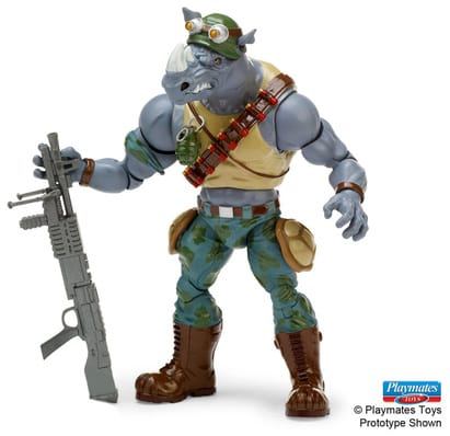 Teenage Mutant Ninja Turtles Classic Collection Rocksteady