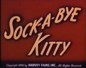 Sock-a-Bye Kitty