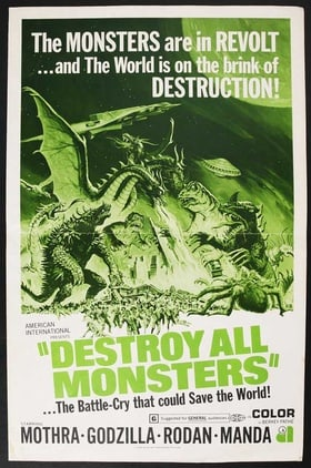 Destroy All Monsters (1968)