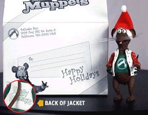 The Muppets: Holiday Rizzo the Rat