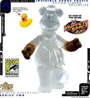 The Muppets: Invisible Spray Fozzie Bear