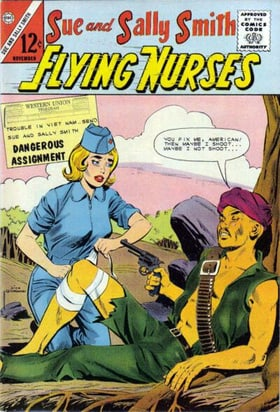 Sue and Sally Smith, Flying Nurses