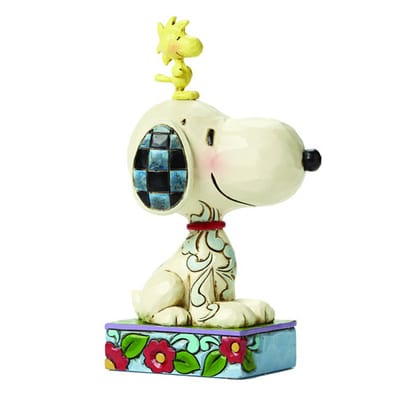 Peanuts Snoopy and Woodstock Jim Shore Statue